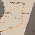 Tour der Vielfalt Karte close-up