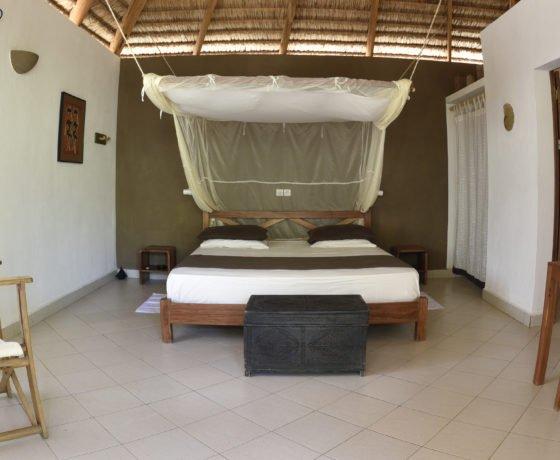 Hotelzimmer im Südwesten Madagaskars
