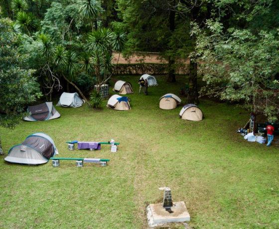 Camping auf Madagaskar