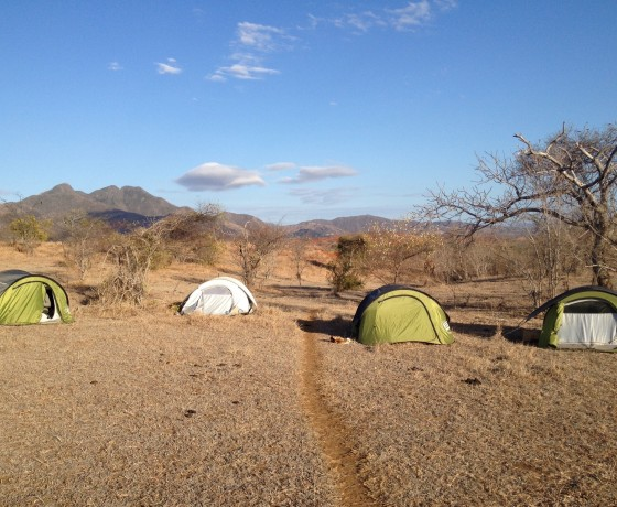 Camping im Nirgendwo auf Madagaskar