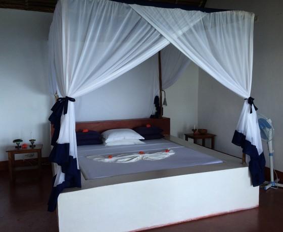 So könnte Ihr Hotelzimmer während ihres Madagaskar Urlaubs aussehen